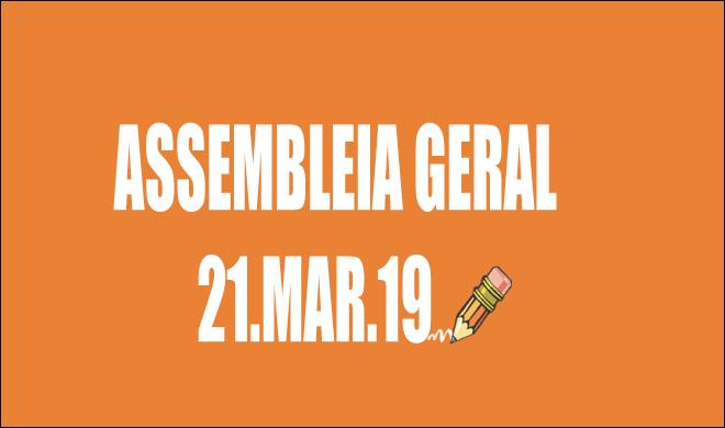 EDITAL DE CONVOCAÇÃO DE ASSEMBLEIA EXTRAORDINÁRIA - 21 DE MARÇO DE 2019