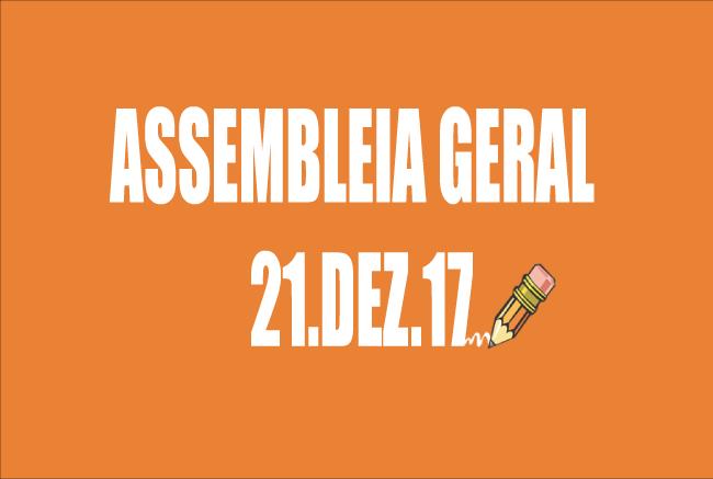EDITAL DE CONVOCAÇÃO DE ASSEMBLEIA EXTRAORDINÁRIA - 21 DE DEZEMBRO DE 2017