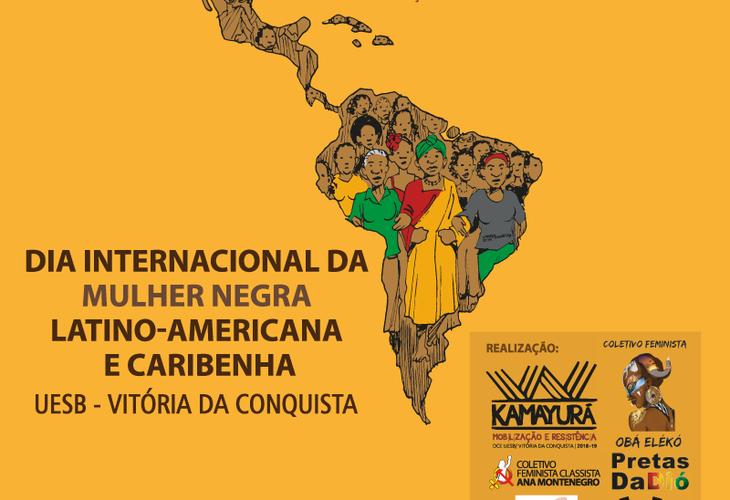 Adusb e coletivos feministas preparam atividades para o dia 25 de julho na Uesb