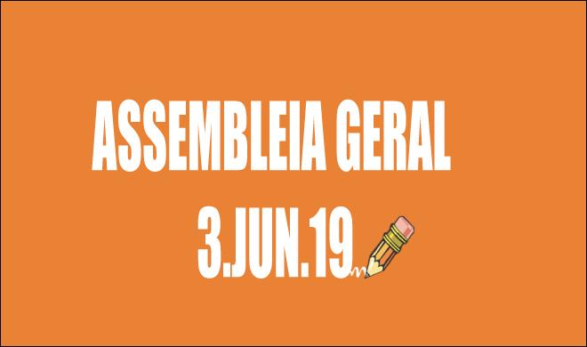 EDITAL DE CONVOCAÇÃO DE ASSEMBLEIA EXTRAORDINÁRIA - 3 DE JUNHO DE 2019