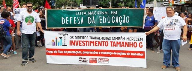 Adufs esclarece que a greve continua e está condicionada às assembleias