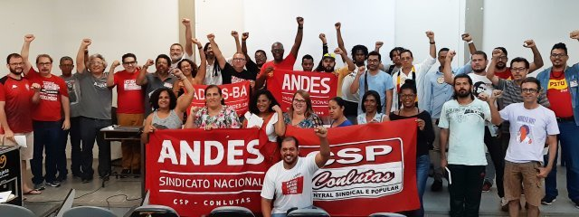 CSP-Conlutas Bahia debate conjuntura e elege Executiva Estadual