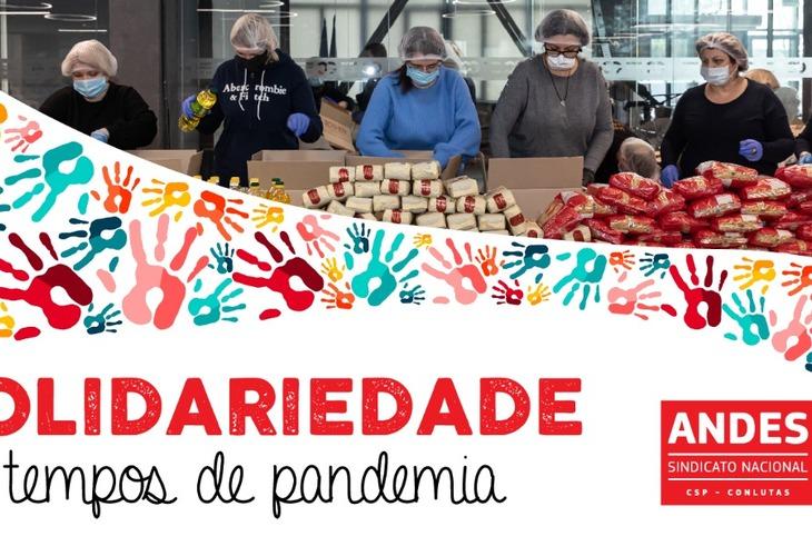 Diretoria Nacional e Seções Sindicais realizam ações de solidariedade em tempos de pandemia