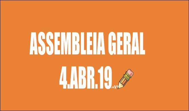 EDITAL DE CONVOCAÇÃO DE ASSEMBLEIA EXTRAORDINÁRIA - 4 DE ABRIL DE 2019