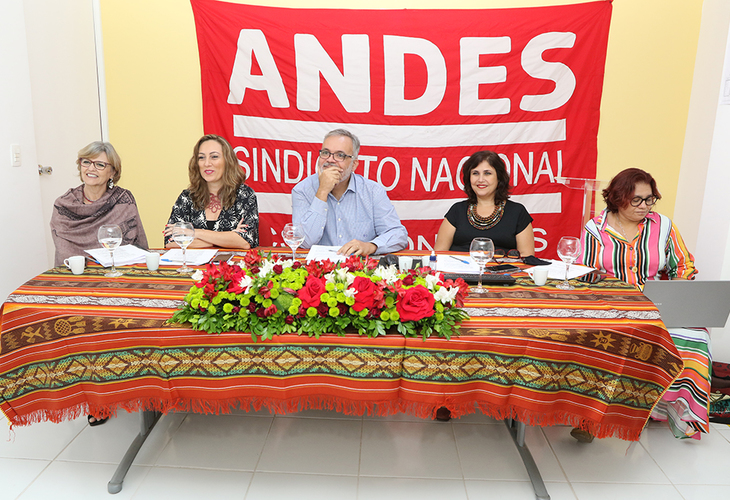 Empossada a nova diretoria do ANDES-SN