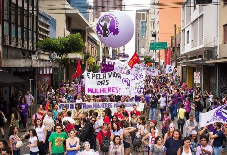 8 de Março: vamos às ruas contra violência e retirada de direitos. Derrotar Bolsonaro e Damares, já!