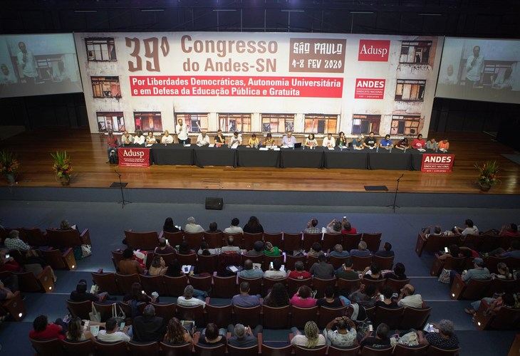 Adusb participa do 39º Congresso do Andes-SN, fortalecendo a democracia interna no sindicato