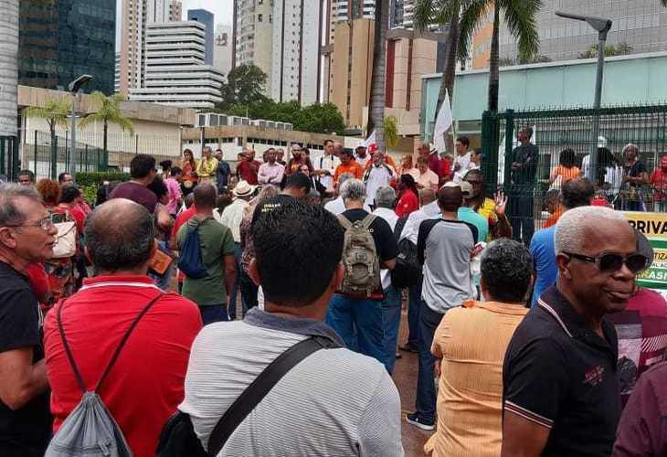 Petroleiros baianos fortalecem a Greve Nacional