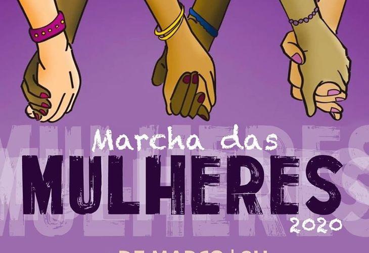 Marcha das Mulheres de Vitória da Conquista acontecerá no dia 9 de março
