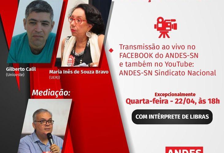 Transmissão ao vivo:  A pandemia da Covid-19 no mundo e sua evolução no Brasil