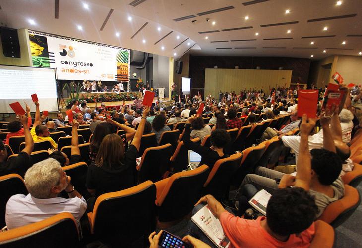 ANDES-SN divulga Carta de Belém do 38º Congresso