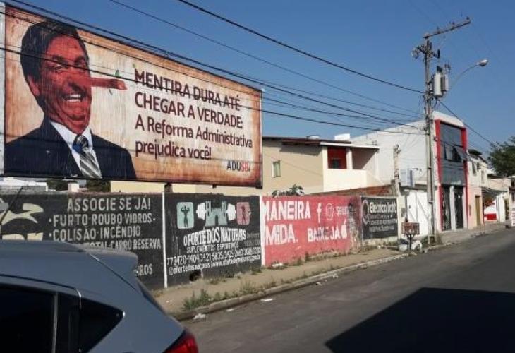 Adusb segue em campanha contra a Reforma Administrativa