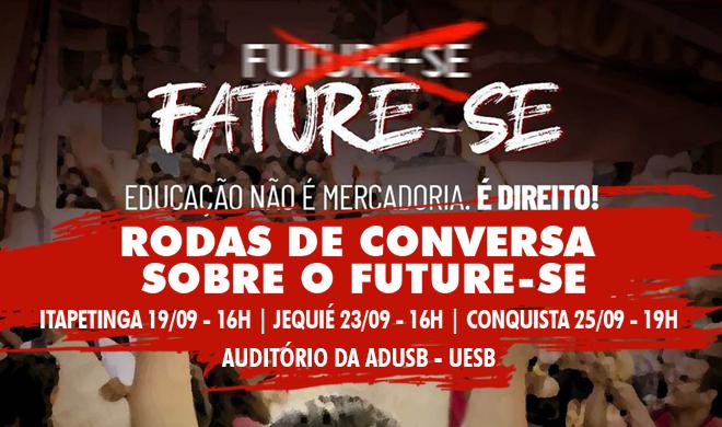 Future-se é tema dos eventos da Adusb em setembro