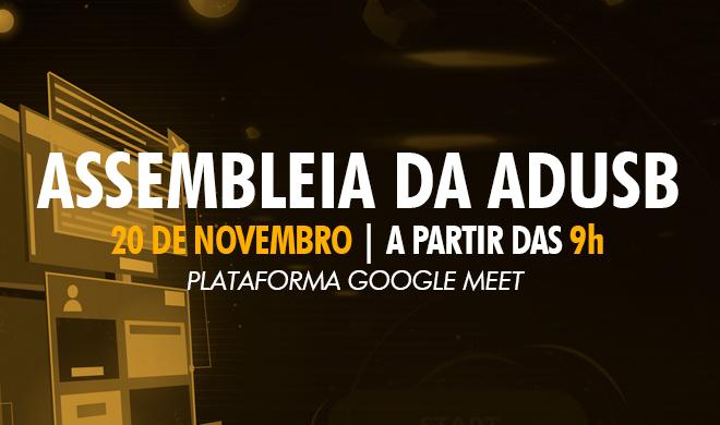 EDITAL DE CONVOCAÇÃO DE ASSEMBLEIA EXTRAORDINÁRIA - 20 DE NOVEMBRO DE 2020