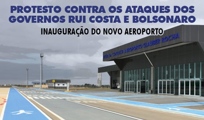 Diretoria da ADUSB convoca para protesto contra os ataques dos governos Rui Costa e Bolsonaro na terça-feira (23)
