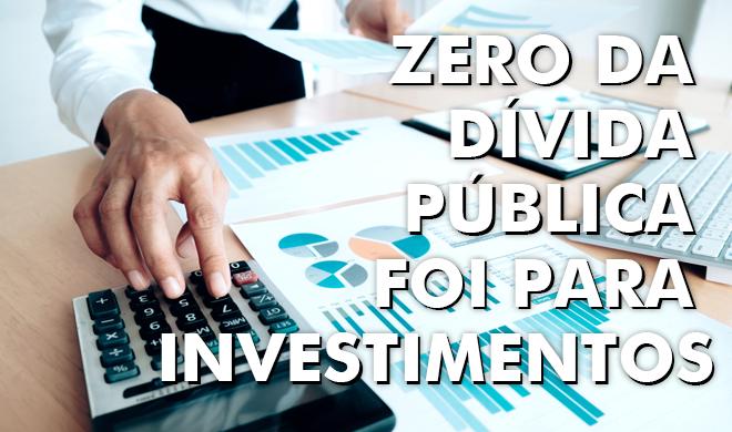 Dívida pública cresce sem contrapartida em investimentos