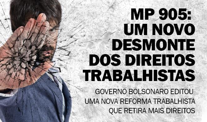 A precarização do trabalho dos jovens por parte do Governo Bolsonaro se torna evidente
