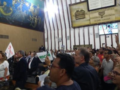 Com muita repressão, governo aprova 'pacote de maldades' contra servidores na Bahia