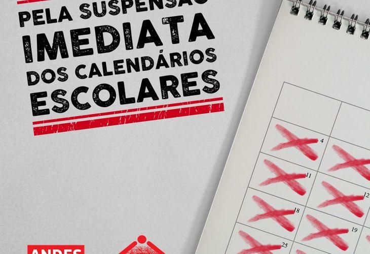 Entidades do setor da Educação defendem suspensão do calendário escolar em todo o país