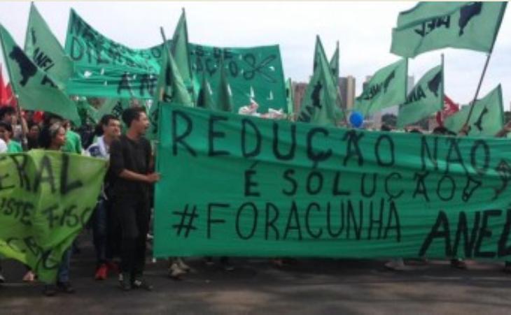 ReduçãoNão! Na noite desta quarta (19), Câmara de Cunha aprova em 2º turno a Redução da Maioridade Penal