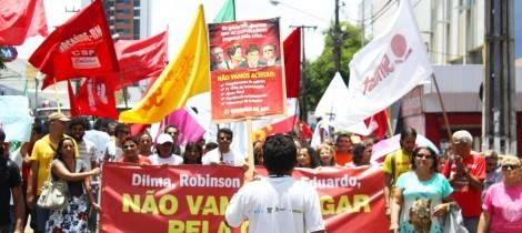 Outubro de Luta: depois de Fortaleza, Teresina e São Luís, novos atos aconteceram na sexta-feira (23) em Natal (RN), São José dos Campos (SP) e no Rio de Janeiro.