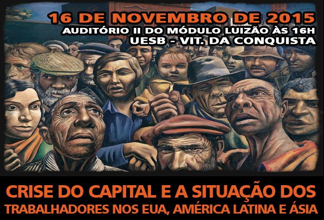 Adusb debate crise e situação dos trabalhadores nos EUA, América Latina e Ásia