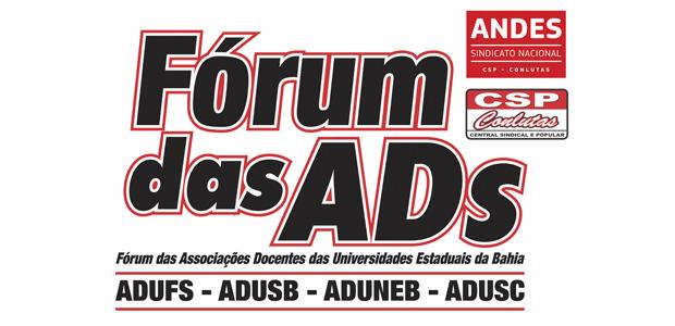 Nota do Fórum das ADs sobre o corte no auxílio à mobilidade docente nas UEBA