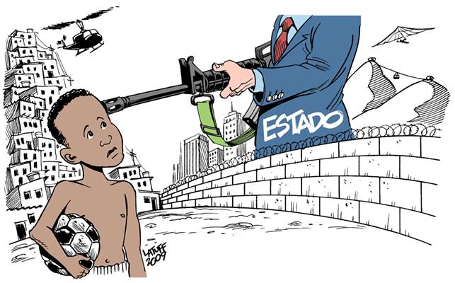 A violência policial e a continuação do racismo institucional na Bahia