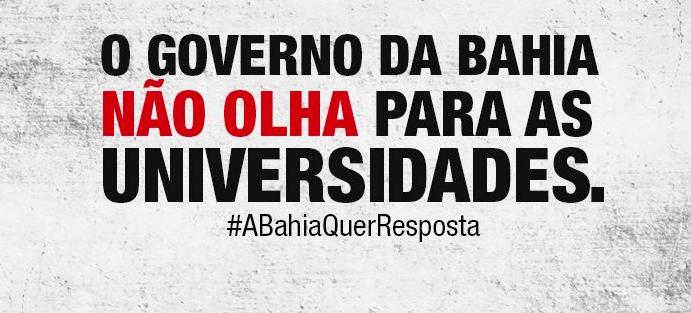 Governo Rui Costa tenta confundir opinião pública e desqualificar o movimento docente