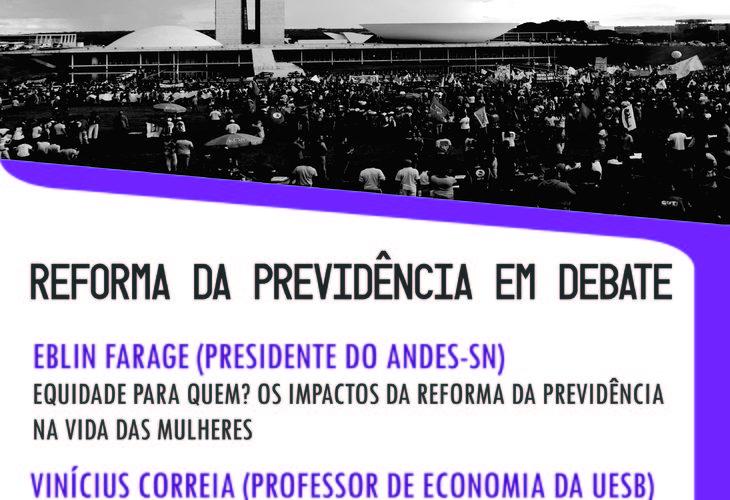 Adusb debate Reforma da Previdência na quarta-feira (15)