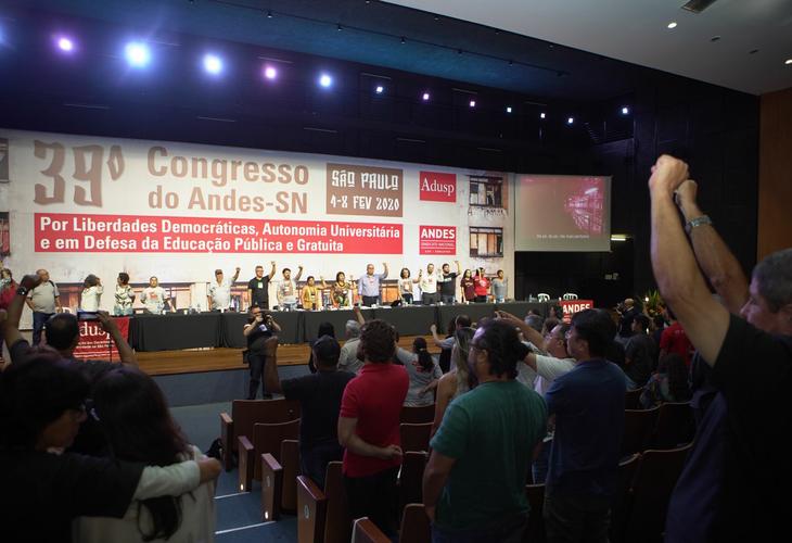 39º Congresso do ANDES-SN começa em São Paulo (SP)