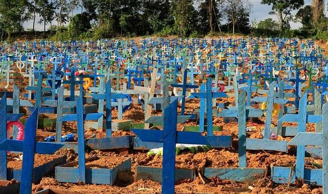 200 mil: quantos mais precisarão morrer para Bolsonaro entender a gravidade da covid-19? Isso é crime!