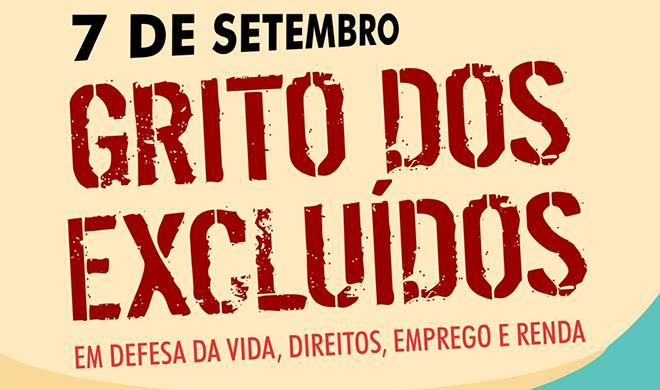 7 de setembro: 26º Grito dos Excluídos conta com participação ampla de entidades e movimentos sociais