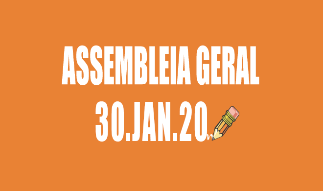 EDITAL DE CONVOCAÇÃO DE ASSEMBLEIA EXTRAORDINÁRIA DA ADUSB: 30 DE JANEIRO DE 2020