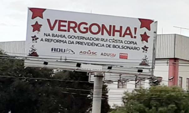 Adusb, Adufs e Adusc denunciam em Brasília a Reforma da Previdência da Bahia