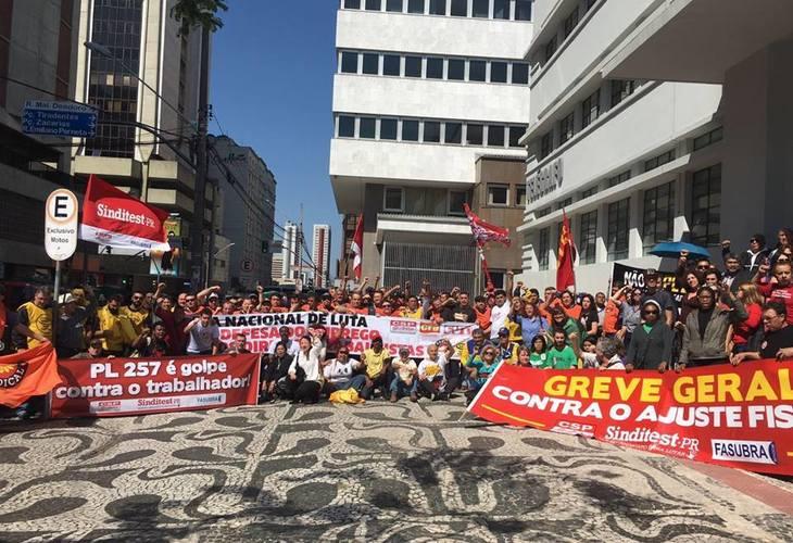 Com ações em diversos estados do país, CSP-Conlutas participa do Dia Nacional de Mobilizações, Paralisações e Protestos e defende Greve Geral