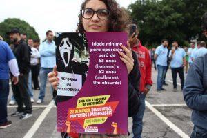 Dia de luta contra Reforma da Previdência mobiliza trabalhadores de várias categorias por todo o país