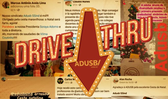 Drive-thru da Adusb de final de ano: Apesar de 2020, é preciso esperançar!