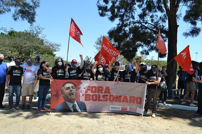 Adusb vai às ruas no 7 de setembro pelo Fora Bolsonaro e em defesa da democracia