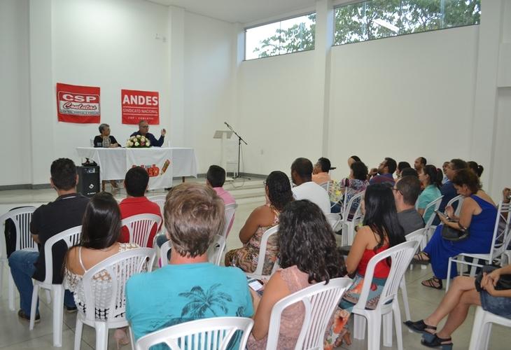 Impactos da reforma da previdência são debatidos pelo presidente do Andes-SN