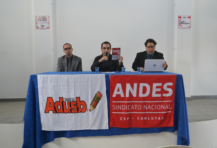 Adusb promove debate sobre aposentadoria e direitos trabalhistas