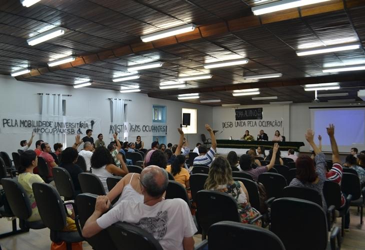 CONSU apoia a Ocupação estudantil e se posiciona contra a reintegração de posse