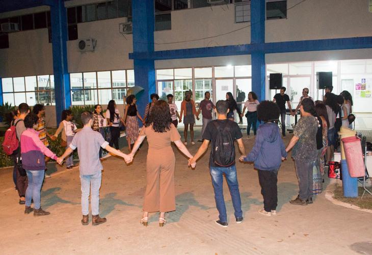 Comunidade acadêmica protesta contra o assédio na Uesb