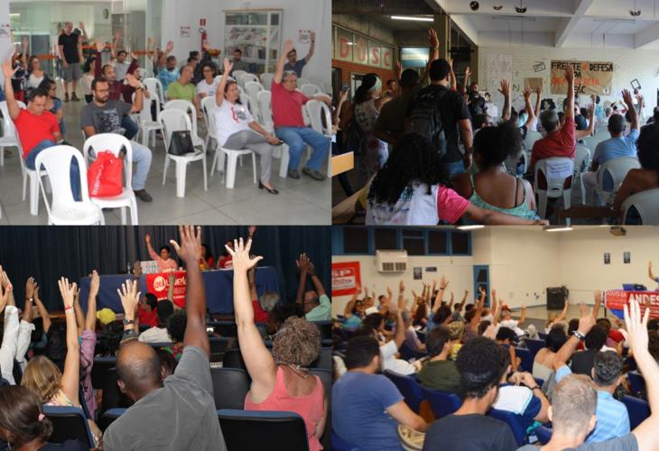 Professores das quatro universidades estaduais baianas aprovam estado de greve