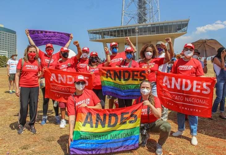 Docentes vão às ruas no 7 setembro em mais um ato pelo Fora Bolsonaro