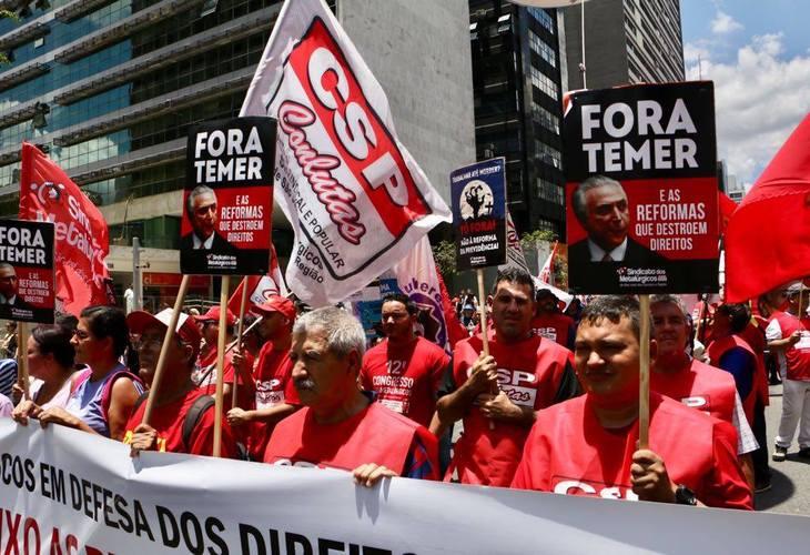 Bases sindicais não aprovam recuo da maioria das Centrais Sindicais e reafirmam participação na Greve Nacional desta terça-feira (5)