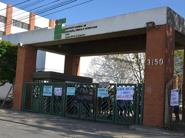 Estudantes ocupam UESB e IFBA em Vitória da Conquista
