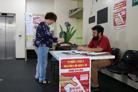 Começa a apuração dos votos locais para a escolha da nova diretoria do ANDES-SN