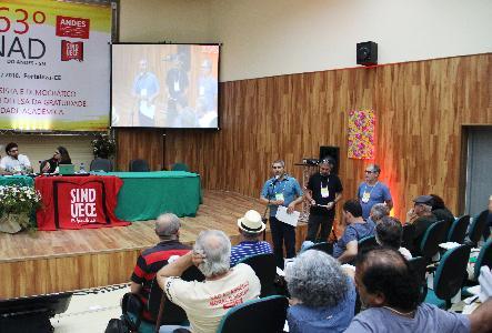 Delegados escolhem Brasília como sede do 64º Conad e aprovam contas do Sindicato