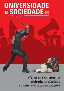 Envio de textos à Revista Universidade e Sociedade vai até 30 de outubro